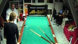 "Amazing 2 players pool Trick Shots with Mike Massey & Florian ""Venom"" Kohler"
