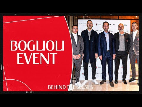 Behind the Scenes | Rossoneri on show at the exclusive Boglioli event