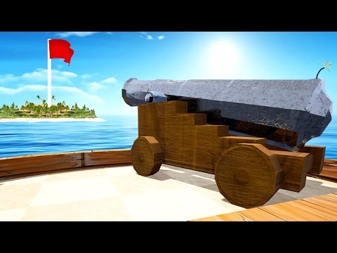IMPOSSIBLE GOLF WITH CANNONS! (Golf It)