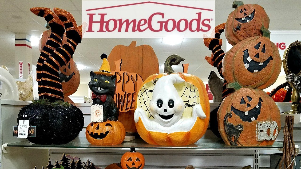 HOMEGOODS AMAZING HALLOWEEN DECOR SHOP WITH ME 2018
