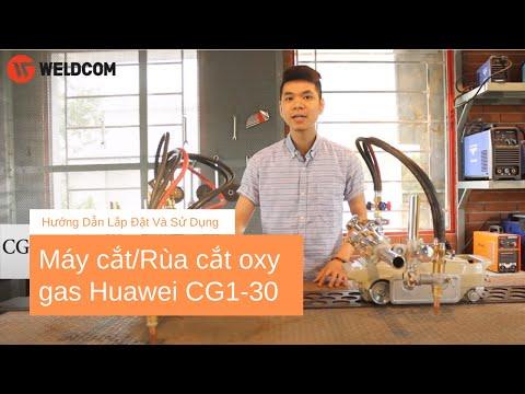 Máy cắt/Rùa cắt oxy gas Huawei CG1-30 - Weldcom