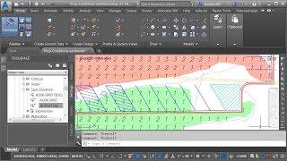 Using Civil 3D to Create a Cut & Fill Earthwork Exhibit