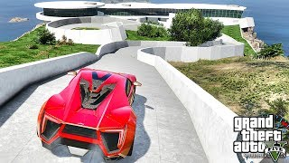 GTA 5 REAL LIFE MOD #516 - THE LYKAN & IRON MAN HOUSE!!! (GTA 5 REAL LIFE MODS)