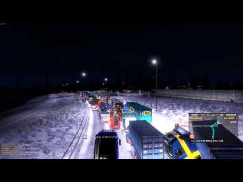Euro Truck Simulator 2 Europort Hard Traffic