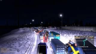 Euro Truck Simulator 2 Europort Hard Traffic