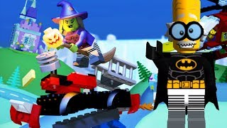 LEGO Juniors Create & Cruise | Halloween Dress Up Batman Lego Monster Truck Android Gameplay