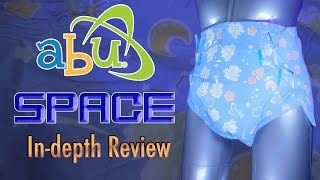 AB Universe SPACE®  In-depth Review #adultdiaper #ABU