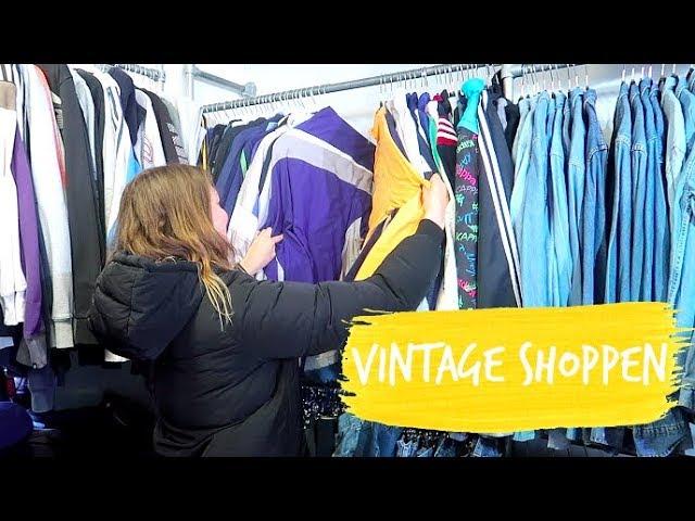 Vintage shoppen bij de Episode + shoplog! | Aimée van der Pijl
