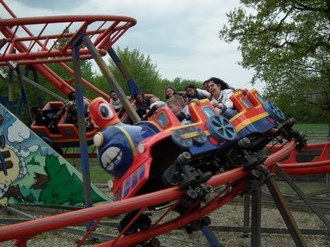 Wild Train Offride Parc Saint Paul France Youtube