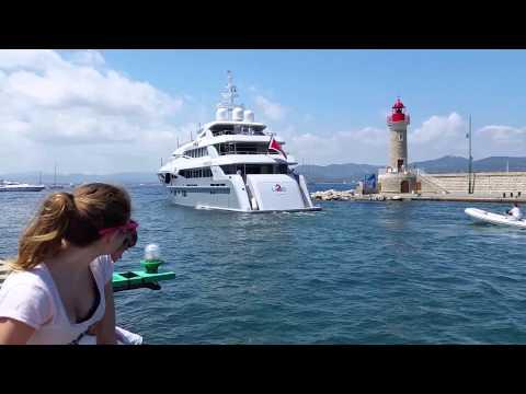 Super yachts St Tropez