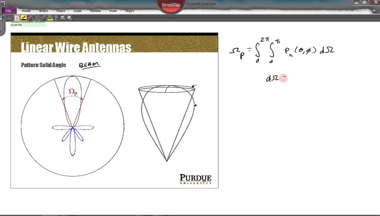 hight resolution of topic 22 part 1 beam solid angle