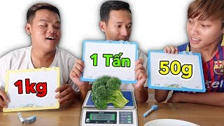 LamTV - Guess The Weight Battle Of Food | Wrong Guess Must Eat
