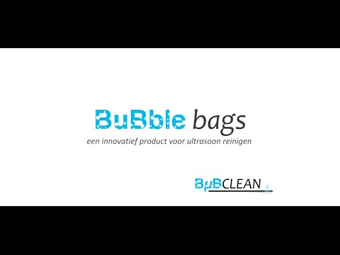 Bubble Bags For Ultrasonic Cleaning What Are They Youtube