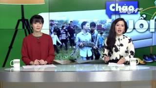 (VTC14)_Bắt được Trăn Gấm dài 3m trong mộ tại Hưng Yên