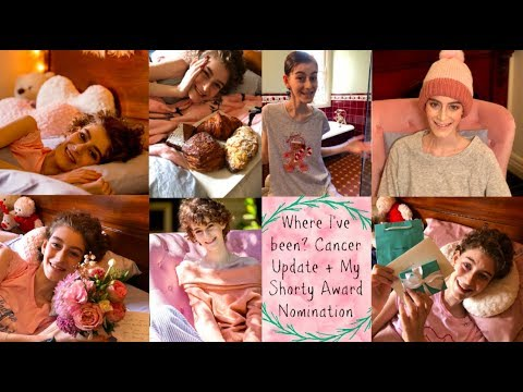 Where I've Been? Cancer Update + My Shorty Award Nomination!!