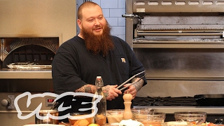 Action Bronson Makes Garlic Parmesan Wings for Sunday