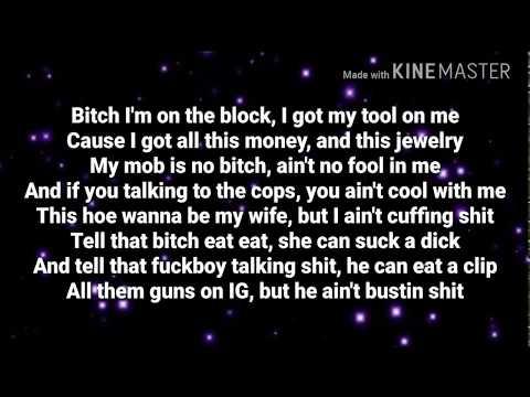 Slim Jesus - On The Block (Lyrics)