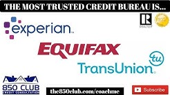 The Most Trusted Credit Bureau In 2019 Is.....