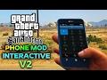 GTA SA Android Phone Mod Interactive V2 FIX CRASH BUG Mod