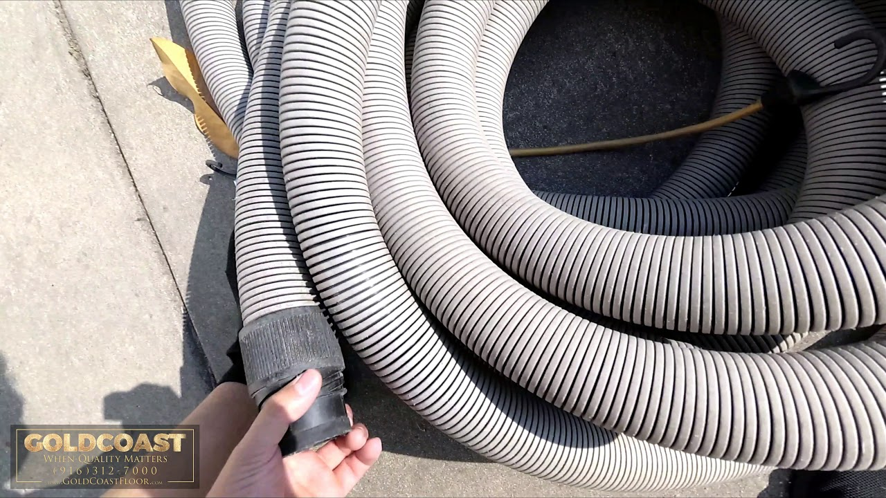 How To Easily Unroll Vacuum Hoses In A Home (Professional Carpet Cleaning Tips)