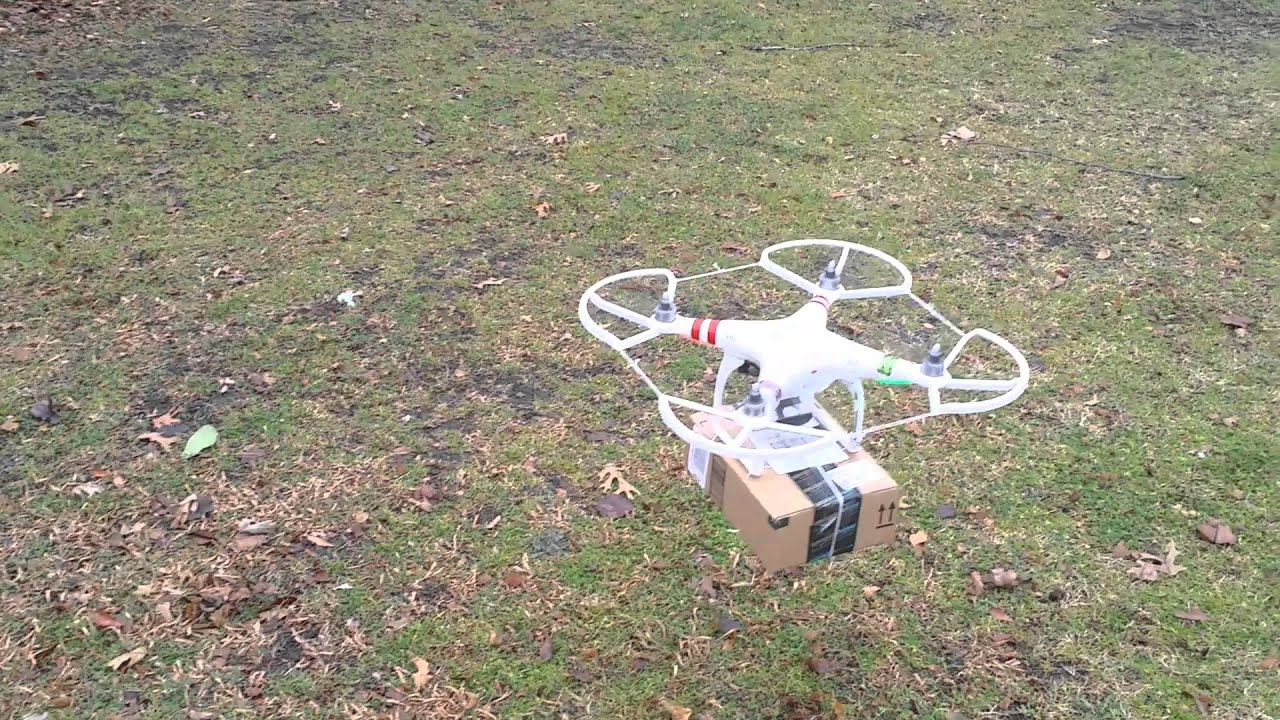 Amazon Deliver By DJI Phantom Drone