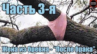 """ЖЕНА ИЗ БРЕВНА Часть 3-я """"ПОСЛЕ БРАКА""""   отношения саморазвитие мужской канал"""