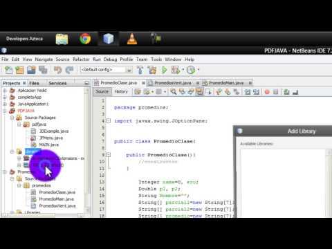 Tutorial: Como agregar una biblioteca en NetBeans 7.3 2013 [Java]
