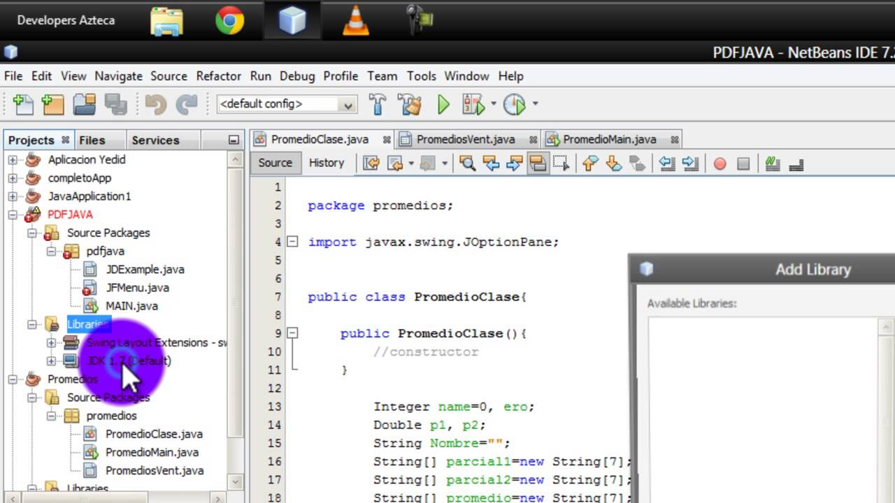 tutorial como agregar una biblioteca en netbeans 7 3 2013 java rh youtube com