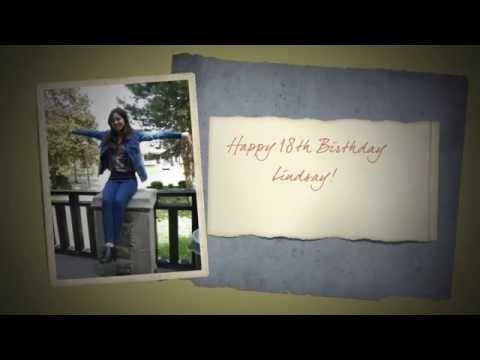 Lindsays 18th Birthday Slideshow