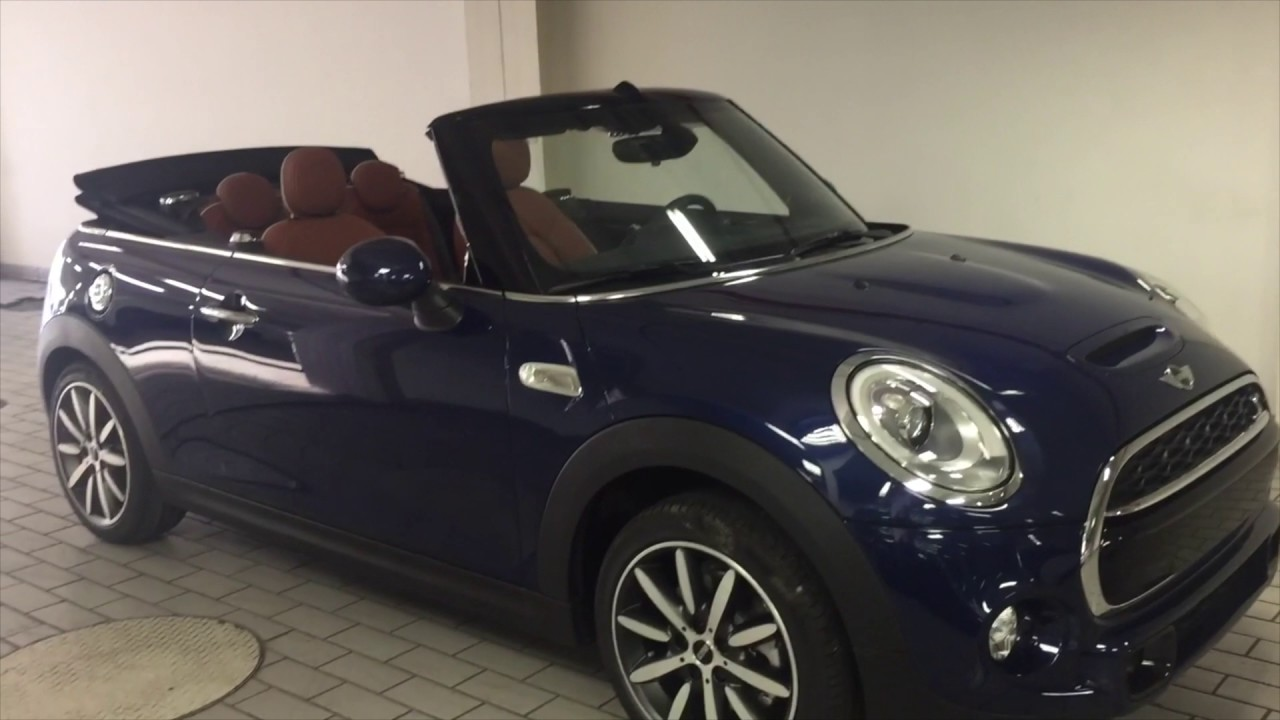 mini cooper s cabrio 2017 youtube. Black Bedroom Furniture Sets. Home Design Ideas