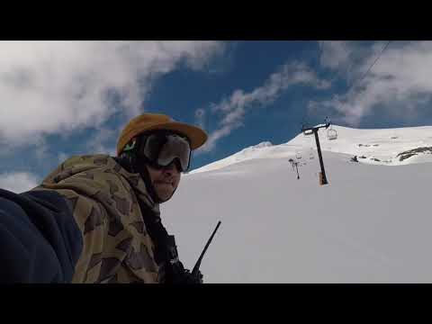 Riki Rider avalancha en villarrica