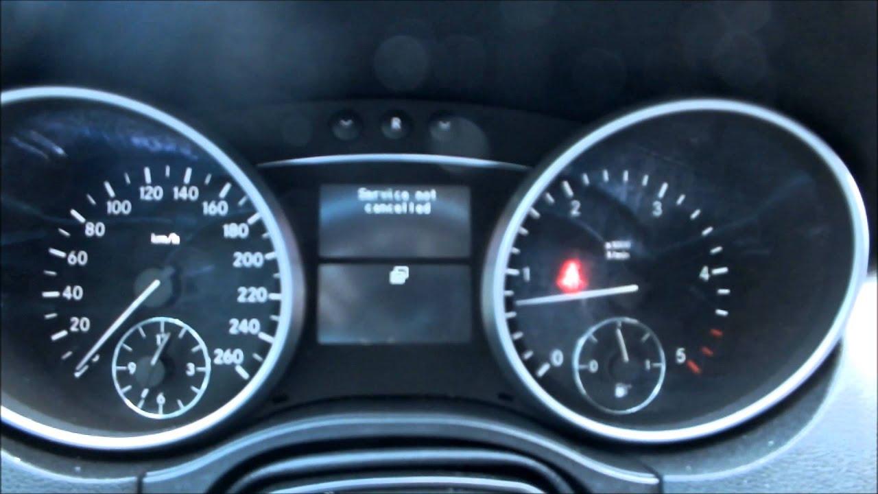 Benz ML350 Maintenance Reset - Fully Explained - YouTube