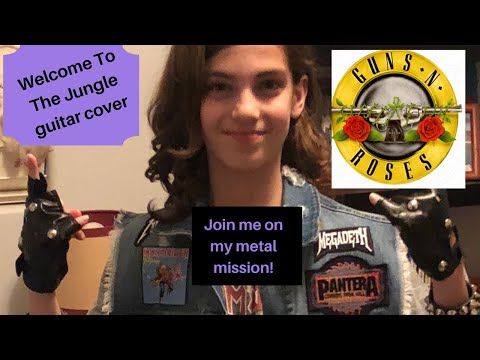 Welcome To The Jungle GunsNRoses cover