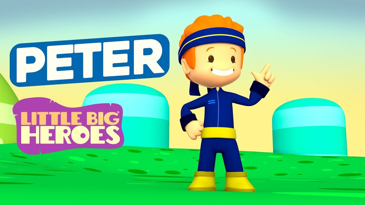 Peter - Bible Stories for Kids - Little Big Heroes