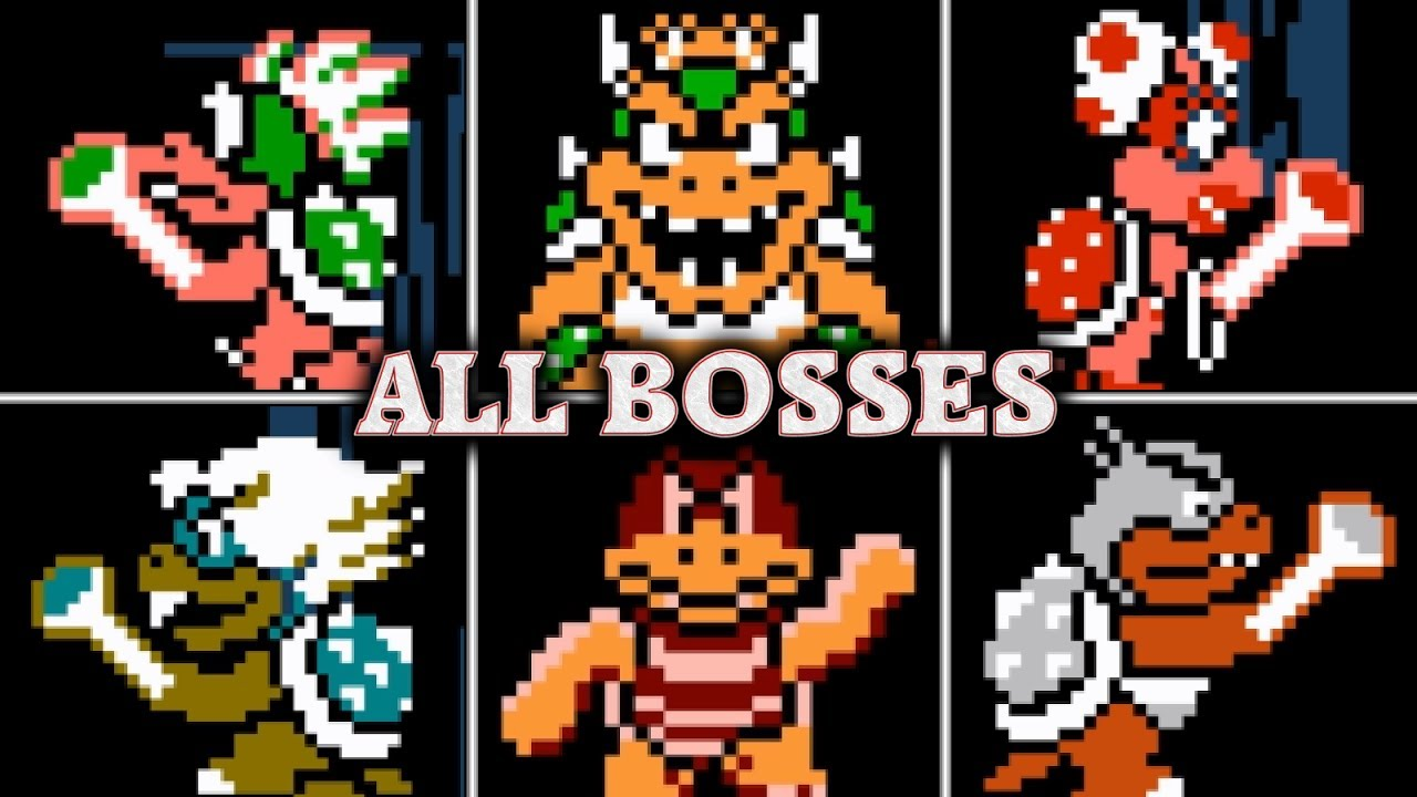 Super Mario Bros 3 All Boss Fights Amp Ending No Damage