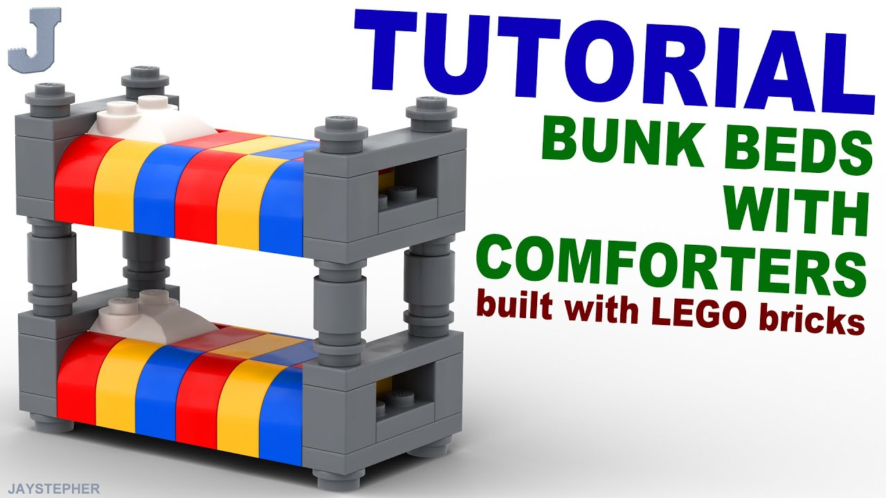 How To Make A Lego Bunk Bed