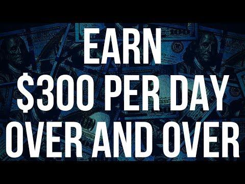 Make $300 Dollars A Day Online With Zero Work! (100% LEGIT)