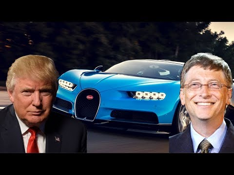 Donald Trump Cars Vs Bill Gates Cars - Billionaire Car Collection