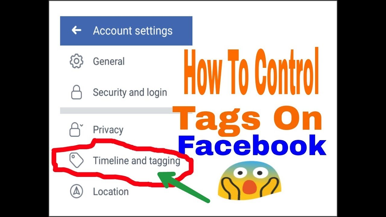 How To Control Timeline & Tagging On Facebook   How To Prevent / Stop Tags On FB .
