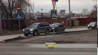 Новосибирск. ДТП на Народной.