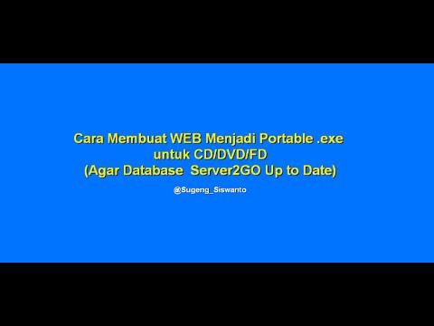 Agar Database Server2go Berubah Atau Up To Date (Web.exe)
