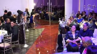 Mr & Mrs Mapapalangi's First Kiss & Wedding Party Entrance