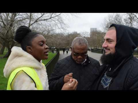 Relevant Revelations! Muhammed vs Christian Sister | Speakers corner | Hyde park