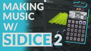 HOW TO MAKE SUPER GROWLS, PO-20 REVIEW & MORE - Making Music w/ Sidice #2