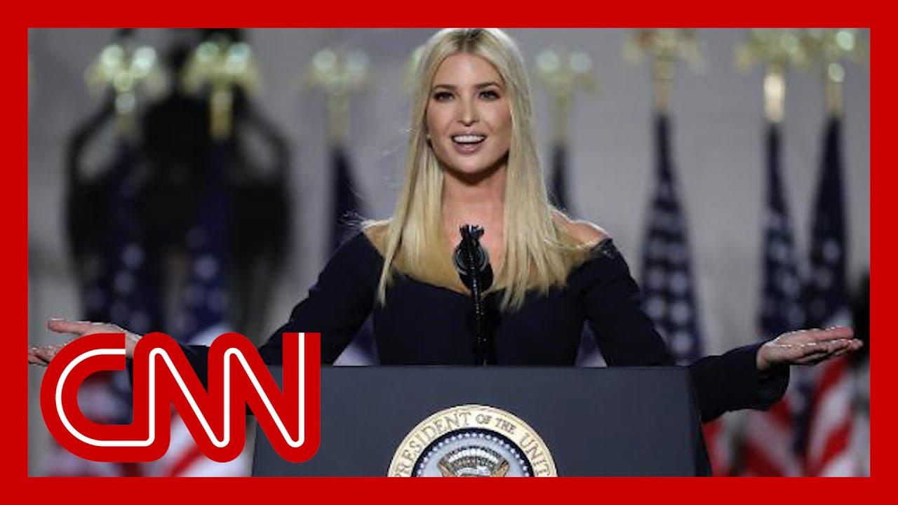 Ivanka Trump describes dad when 'cameras have left'