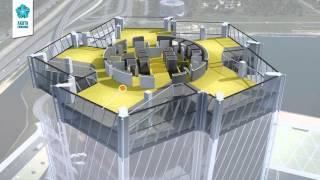 """Презентация проекта """"Лахта центр"""". Архитектурная концепция"""