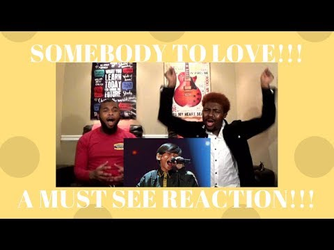 TNT BOYS  SOMEBODY TO LOVEA MUST SEE REACTION!!!CJ AND TRAYLOVE