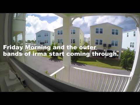 Time Lapse of Hurricane Irma Hitting the Florida Keys