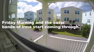 Time Lapse of Hurricane Irma Hitting the Florida Keys