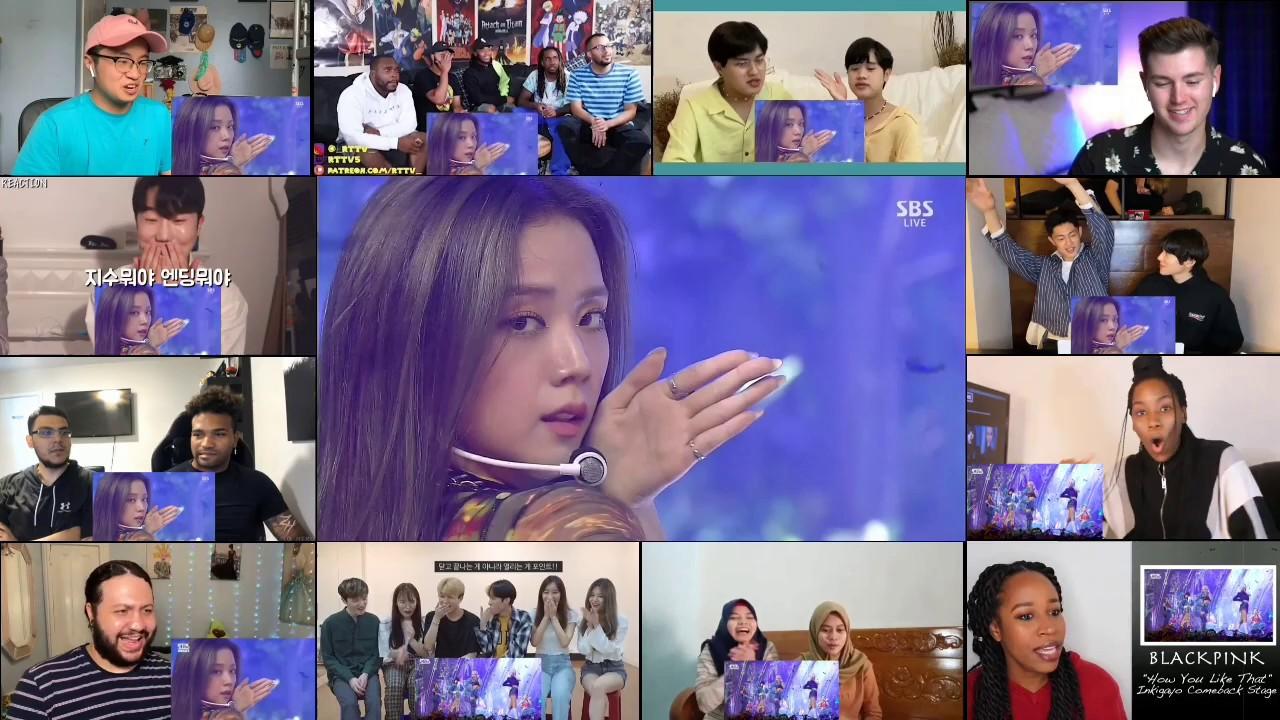 Download BLACKPINK - 'How You Like That' 0628 SBS Inkigayo Reaction Mashup